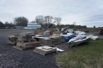 Farm yard junk piles
