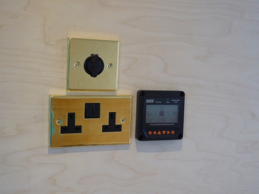 Solar metre and plugs