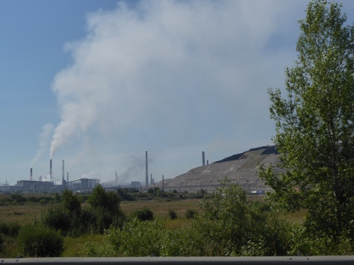 Power stations and mines