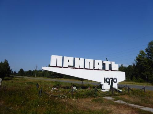 The town of Pripyat in Ukraine
