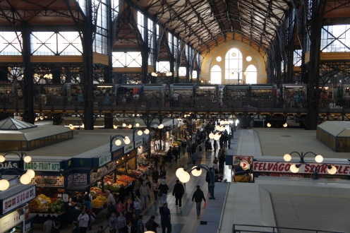 Largest covered market hall in Budapest